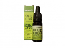 Biokonopia CBD 5% 10ml