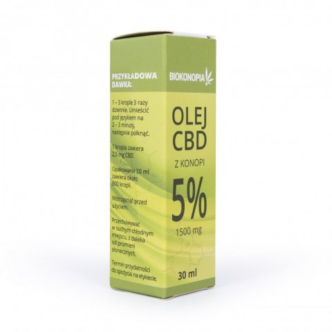 Biokonopia CBD 5% 30ml